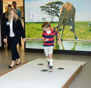 Kid In Gait And Motion room