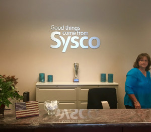 Sysco_ReceptionAreaLogo