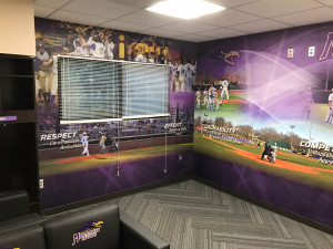 Project Spotlight University Of Montevallo Baseball Locker Room